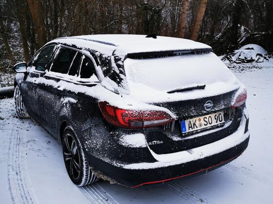 Schnee auf Eis - was ein Schei.....