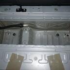 Batteriefach leer und gereinigt