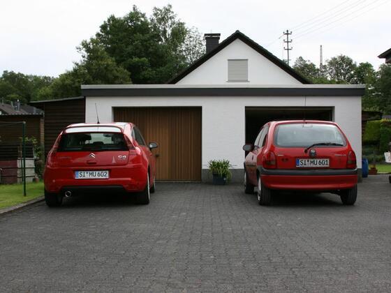 Mein C4 by Loeb und mein Corsa