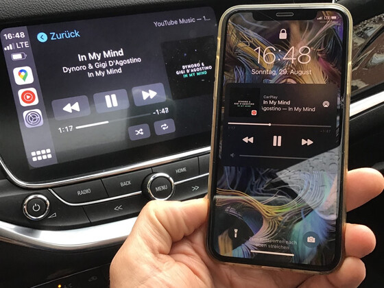 Wireless Apple Carplay mit Carlinkit 3.0