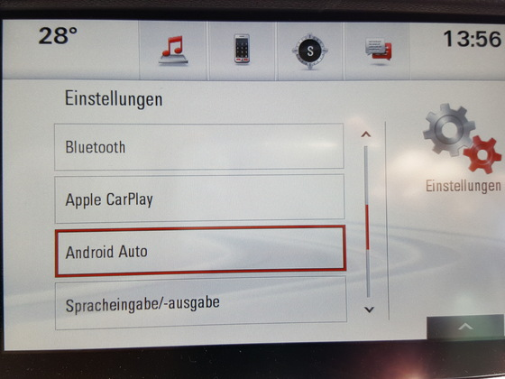 Android bei Navi900