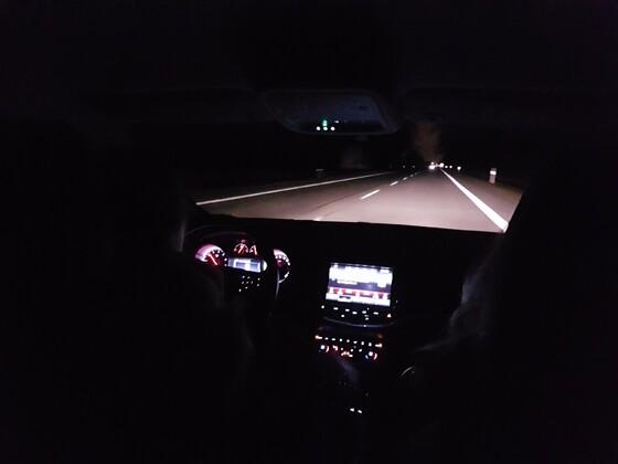 Ausleuchtung Abblendlicht mit Osram Nightbreaker Laser H7