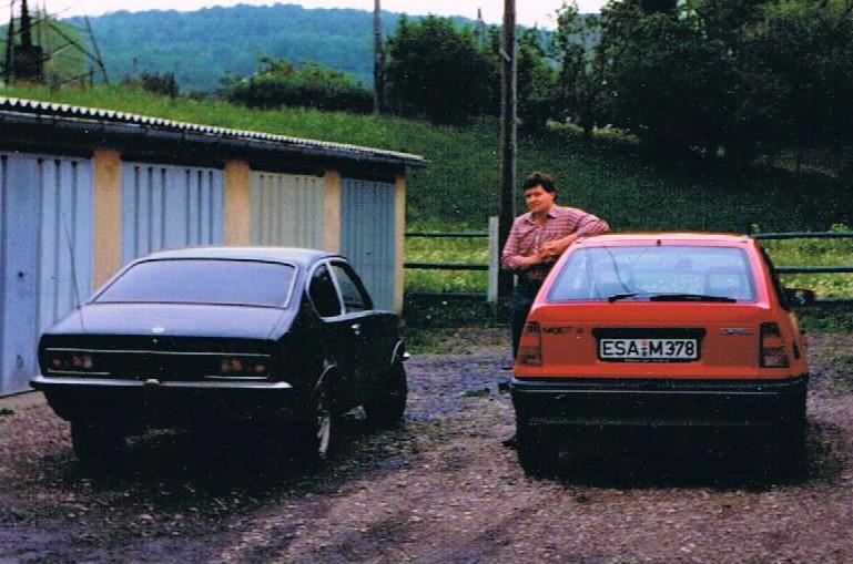 Kadett C Coupe 1.2S und Kadett E 1.6i