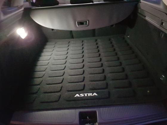 Kofferraummatte (Stoffseite)