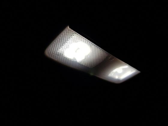 Leselampen LED's im Fond