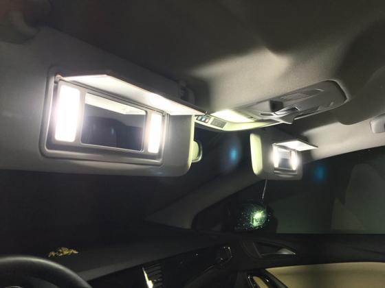 Schminkspiegel LED