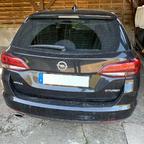 Opel Astra K ST Nachrüstung rahmenlose Kennzeichenhalter