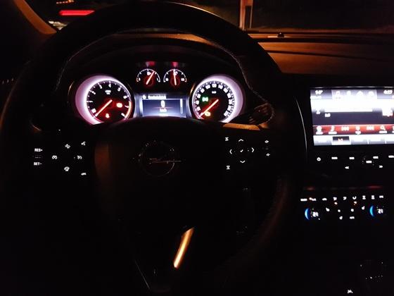 Cockpit bei Nacht