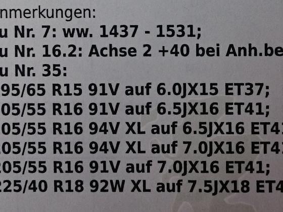 Reifen-/Radkombination