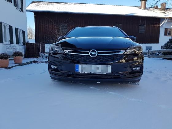Sauber trotz Schnee und Matsch :)